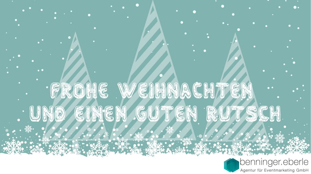 Frohe Weihnachten Und Happy New Year.Merry Chistmas And A Happy New Year Benninger Eberle
